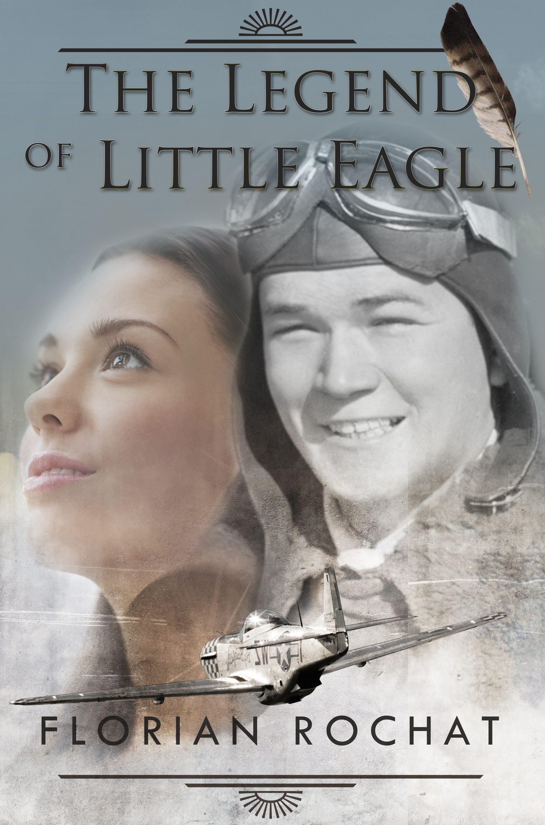 Florian Rochat's book cover - The legend of Little Eagle